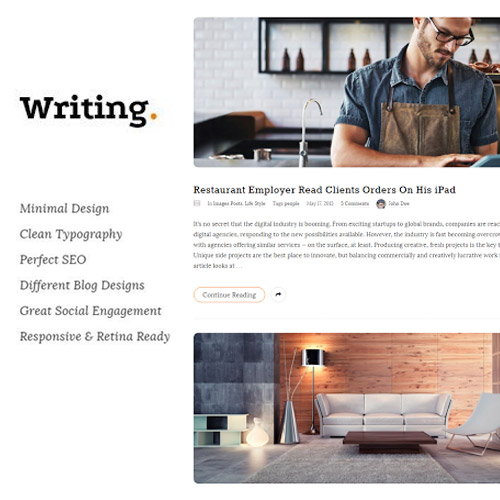 Writing Blog Personal Blog