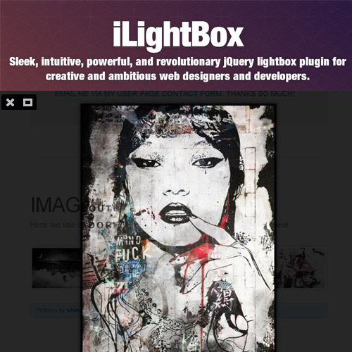 iLightBox Revolutionary Lightbox for WordPress