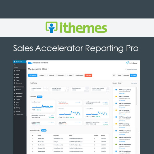 iThemes Sales Accelerator Reporting Pro