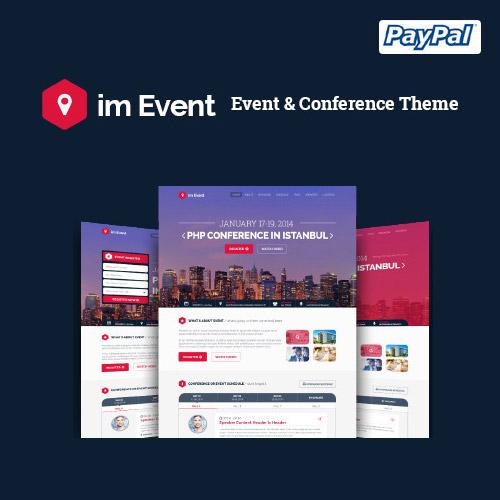 im Event Event Conference WordPress Theme