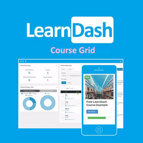 learndash Course Grid