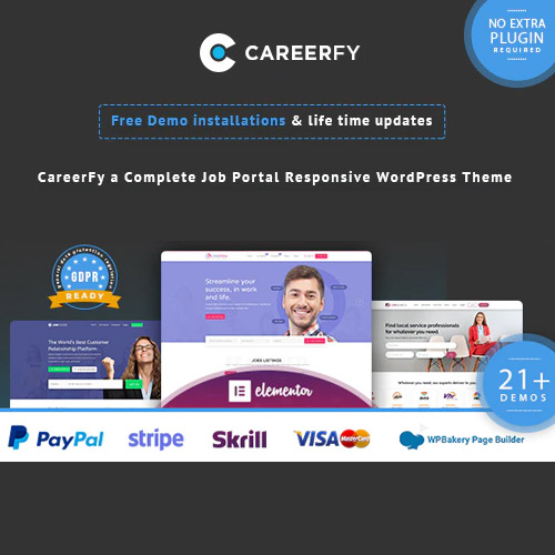 Careerfy Job Board WordPress Theme