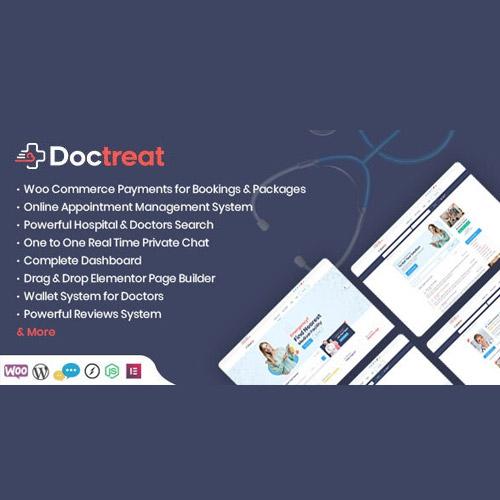 Doctreat Doctors Directory WordPress Theme