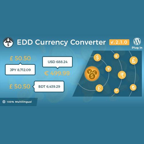 Easy Digital Downloads Currency Converter