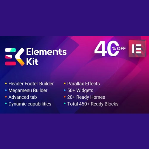 Elements Kit All In One Addons for Elementor Page Builder