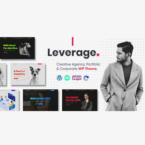 Leverage Creative Agency Portfolio WordPress Theme