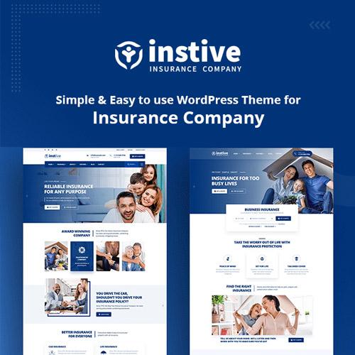 Instive Insurance WordPress Theme