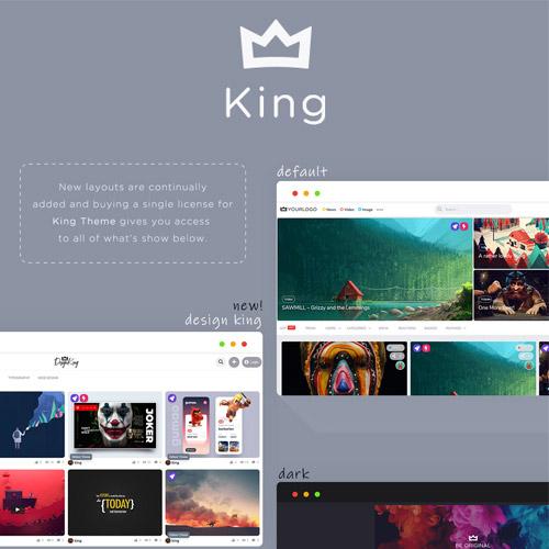 King WordPress Viral Magazine Theme