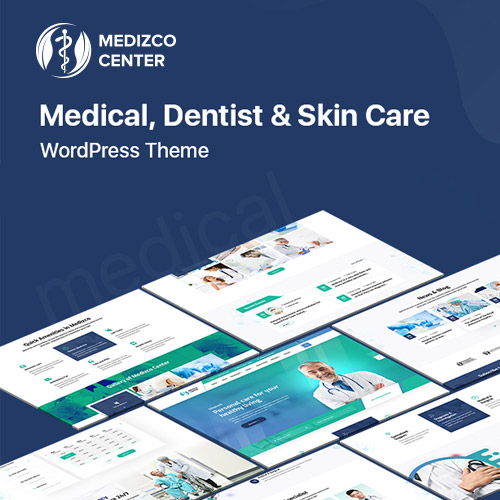 Medizco Medical Health Dental Care Clinic WordPress Theme