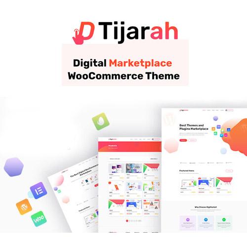 Tijarah Digital Marketplace WooCommerce Theme
