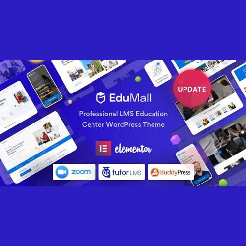 EduMall Professional LMS Education Center WordPress Theme