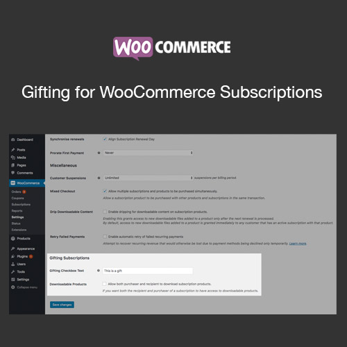 Gifting for WooCommerce Subscriptions