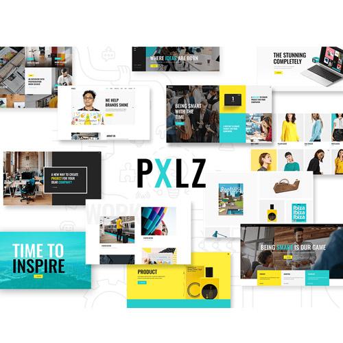 Pxlz Creative Design Agency Theme